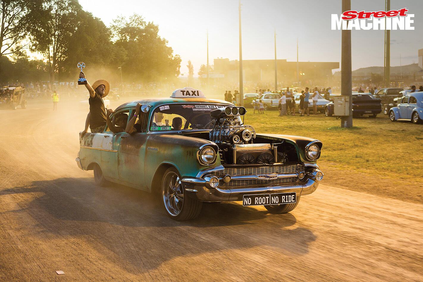 57 Chev Taxi Summernats