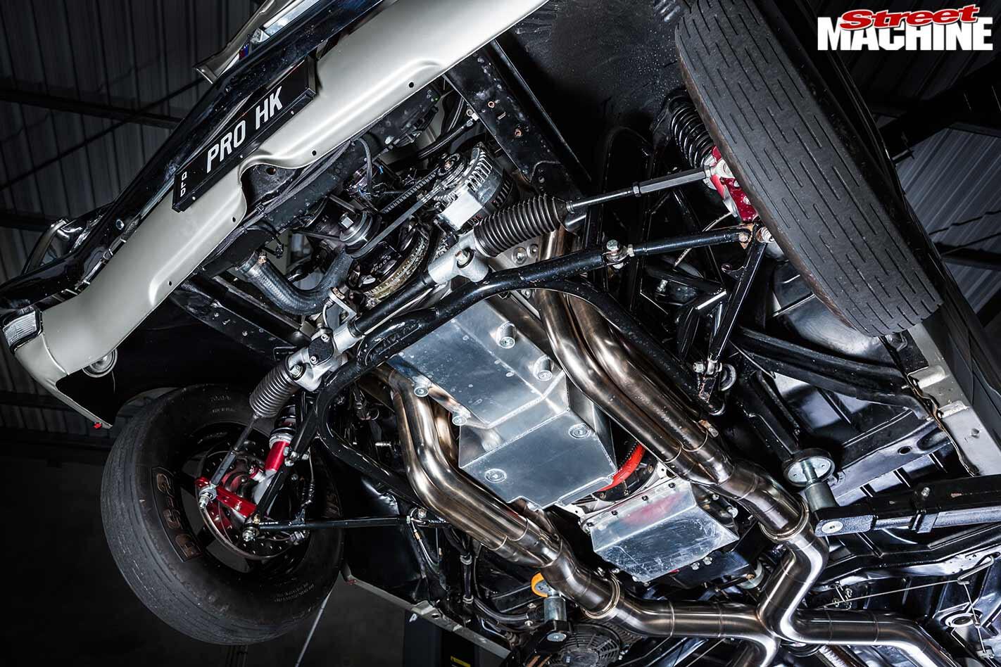 Holden HK Monaro GTS underside