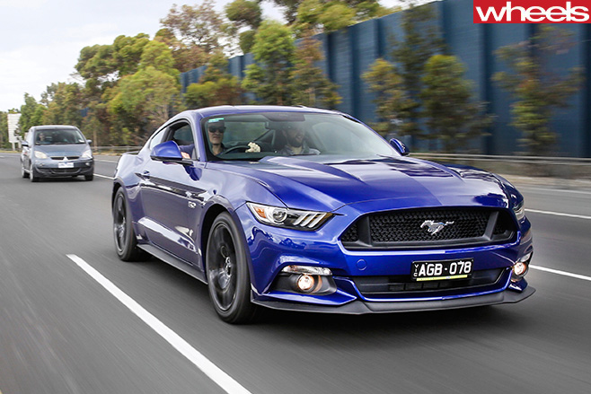 Tom -Elliott -first -Ford -Mustang -driving