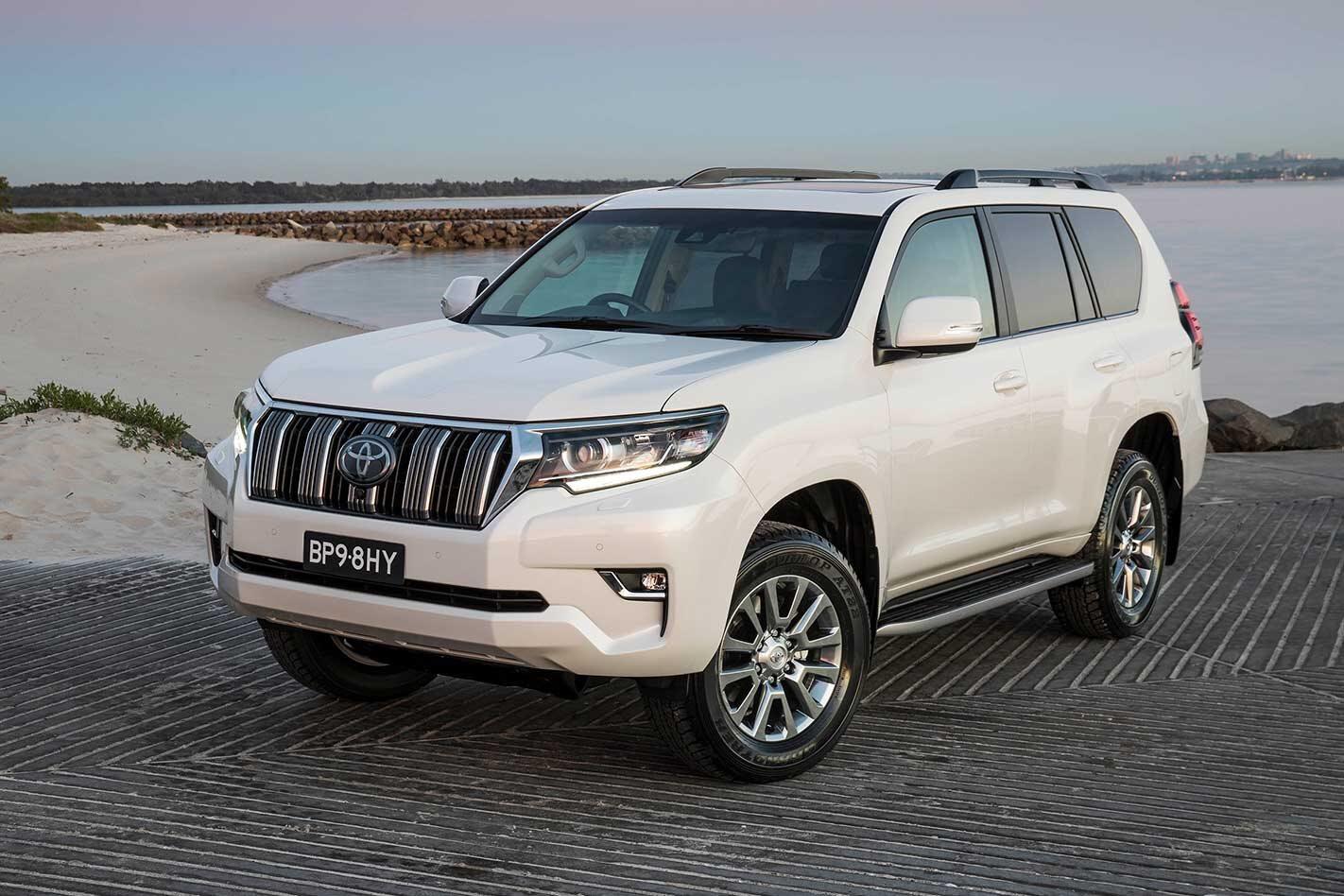 Toyota LandCruiser Prado fuel leak fault recall