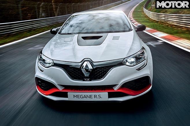 2019 Renault Mégane RS Trophy-R  front