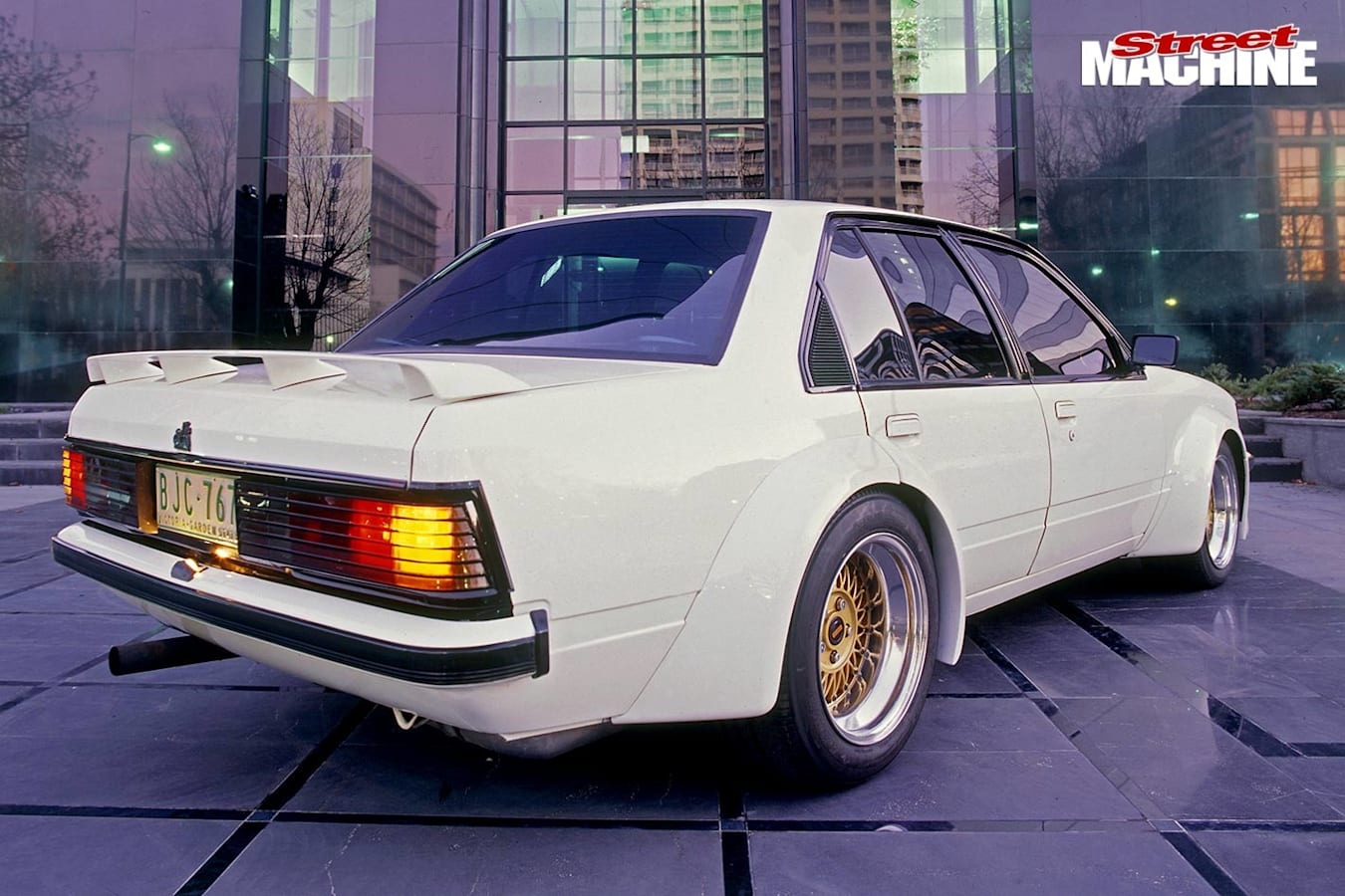 Holden VH Commodore rear