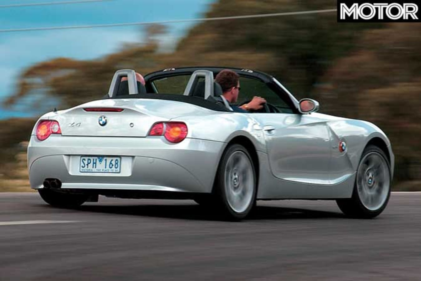 Performance Car Of The Year 2004 6th Place BMW Z 4 Rear Jpg
