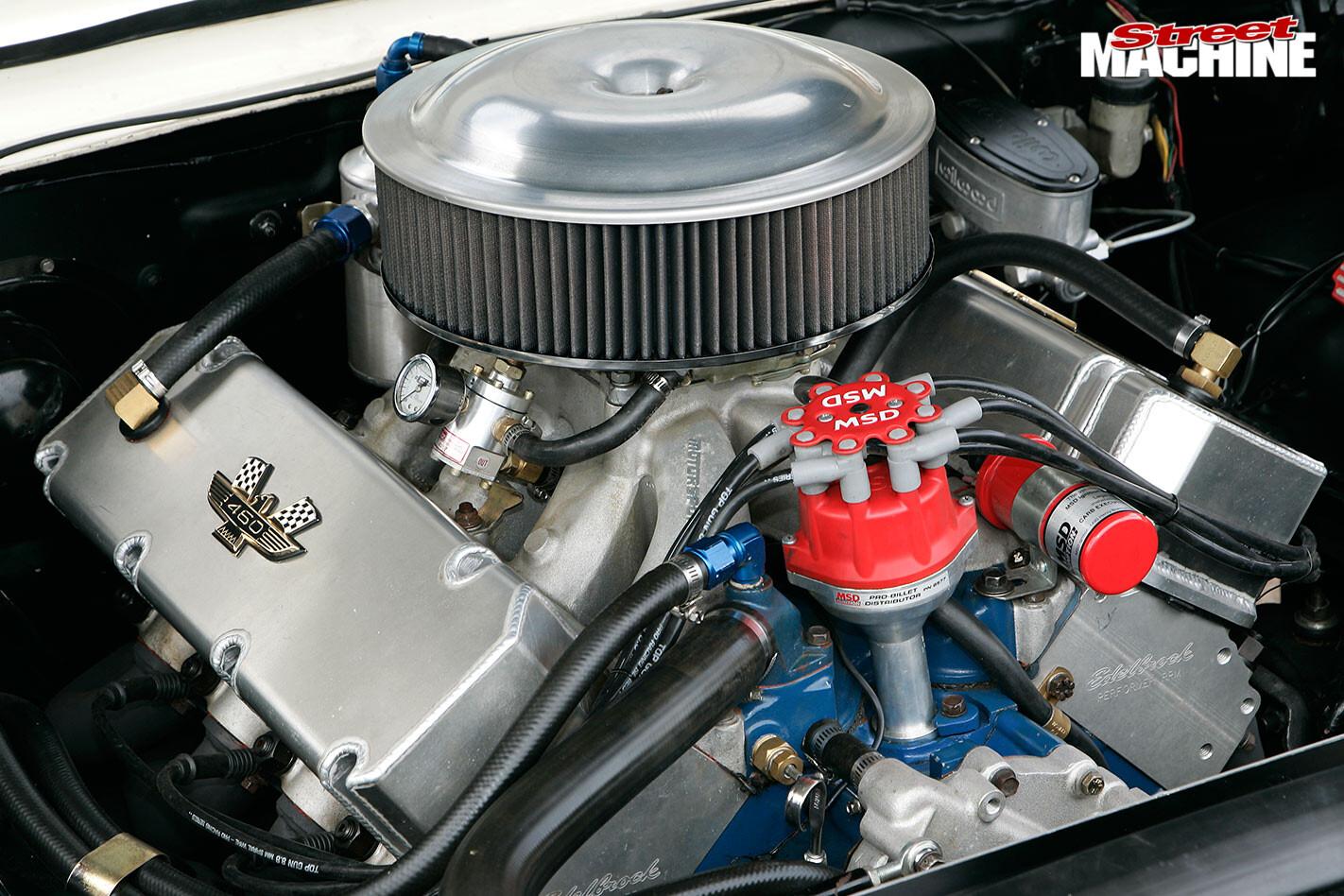 Ford Galaxie XL500 engine