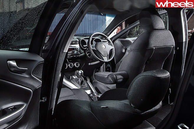 Alfa -Romeo -Guilietta -interior