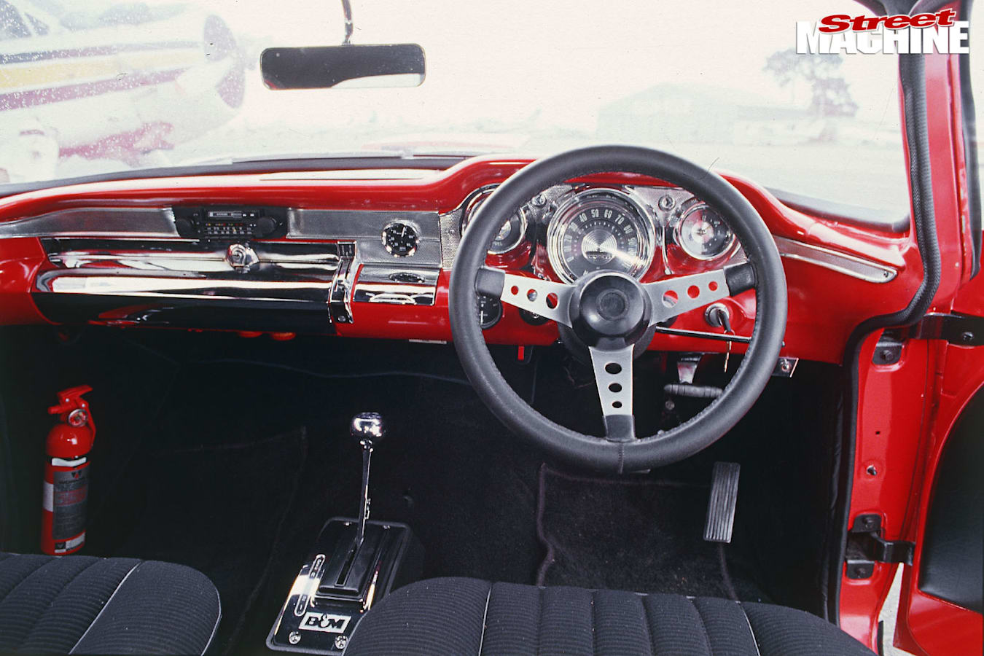Holden EH interior