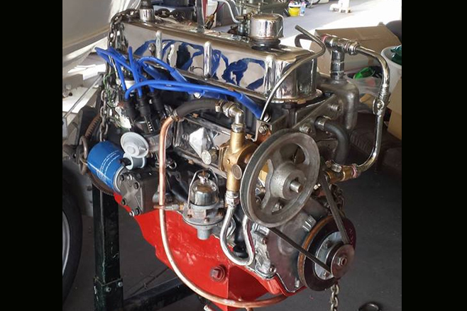 Rick Fenwick Holden six 179 engine