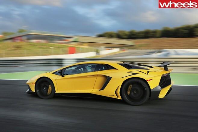 Lamborghini -LP-sports -car