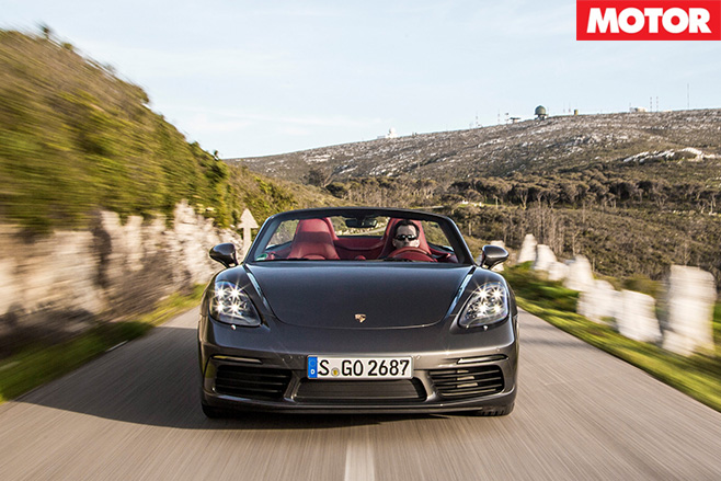 Porsche 718 Boxster front