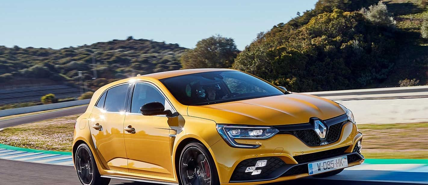 Renault Megane RS 280 scores Cup chassis option