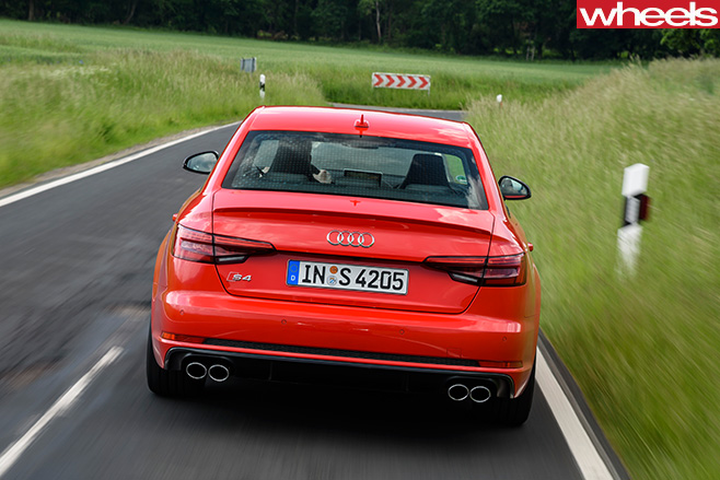 Audi -S4-rear