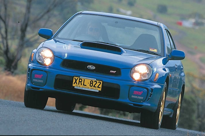2002 Subaru Impreza WRX STi used car review