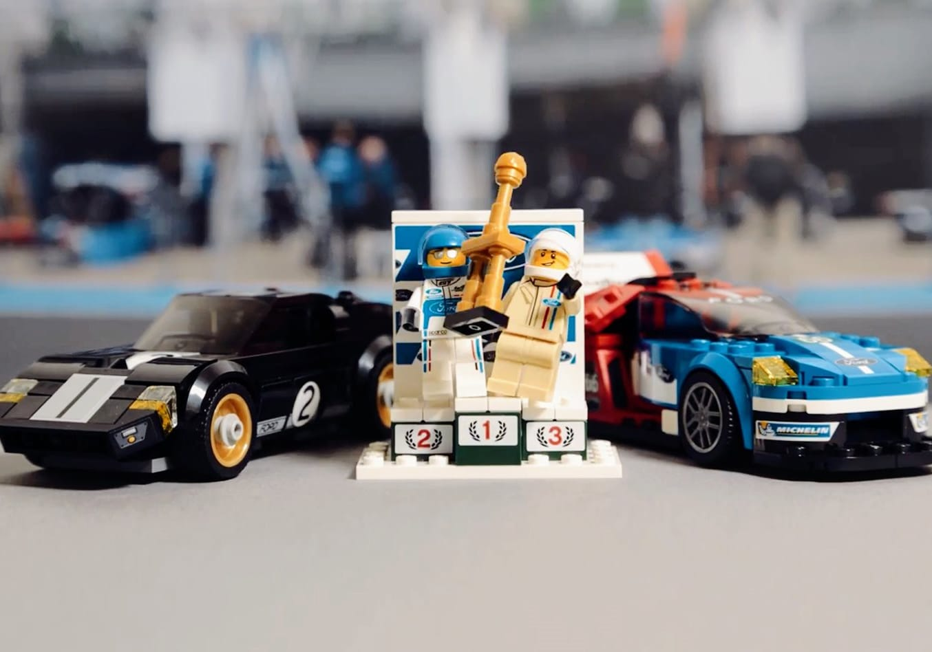 Lego Ford GT Front Side Jpg