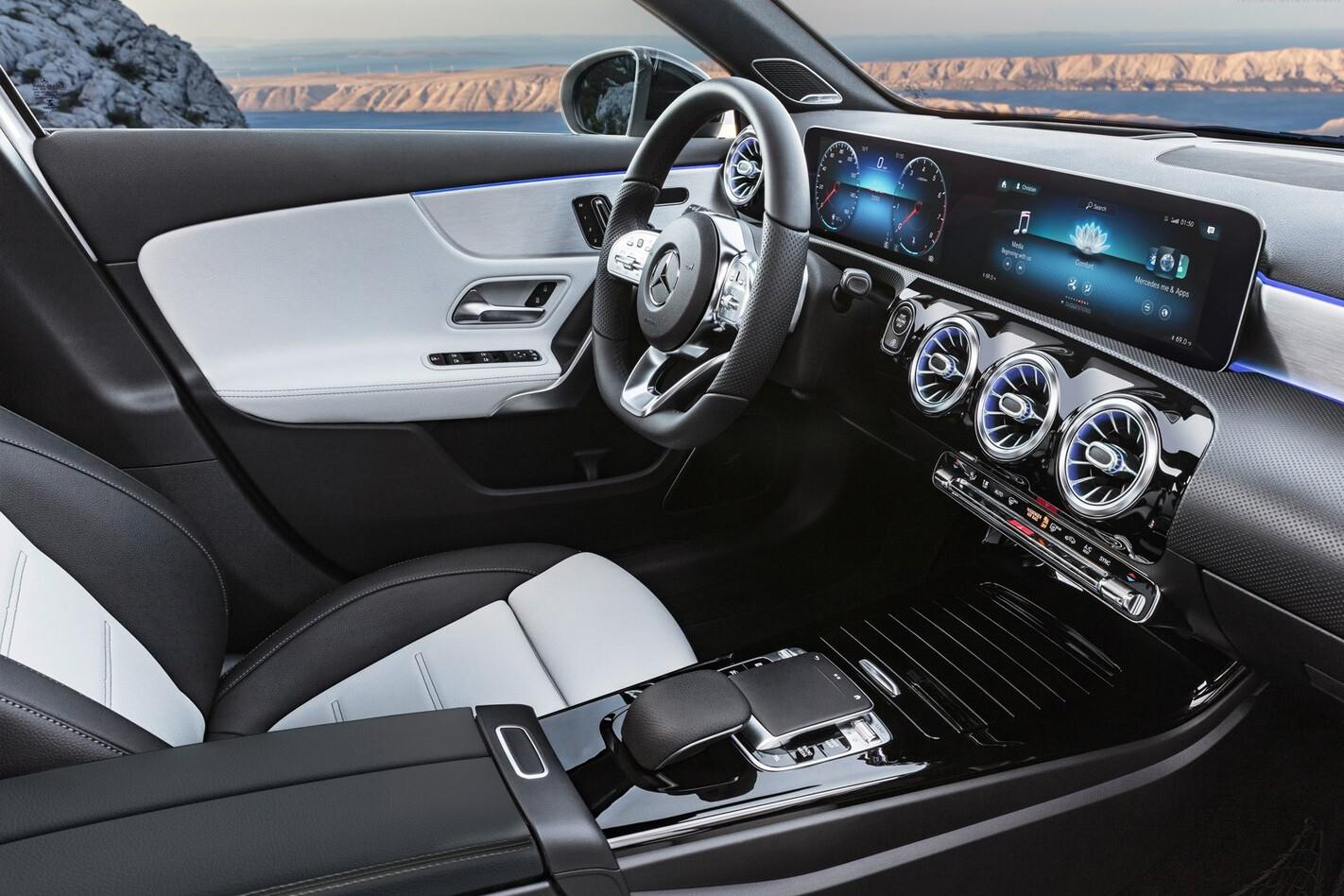 Mercedes A Class Interior Profile Jpg