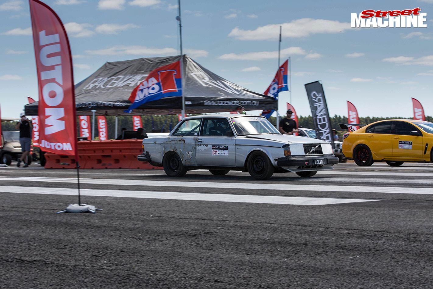 Volvo at racewars