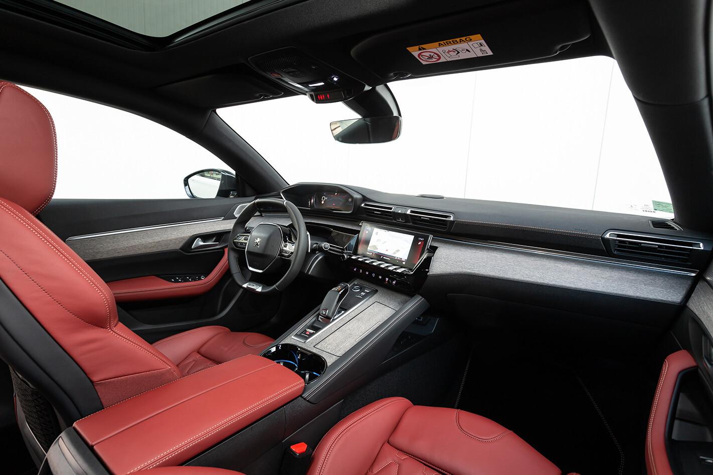 Peugeot 508 Front Seats Jpg