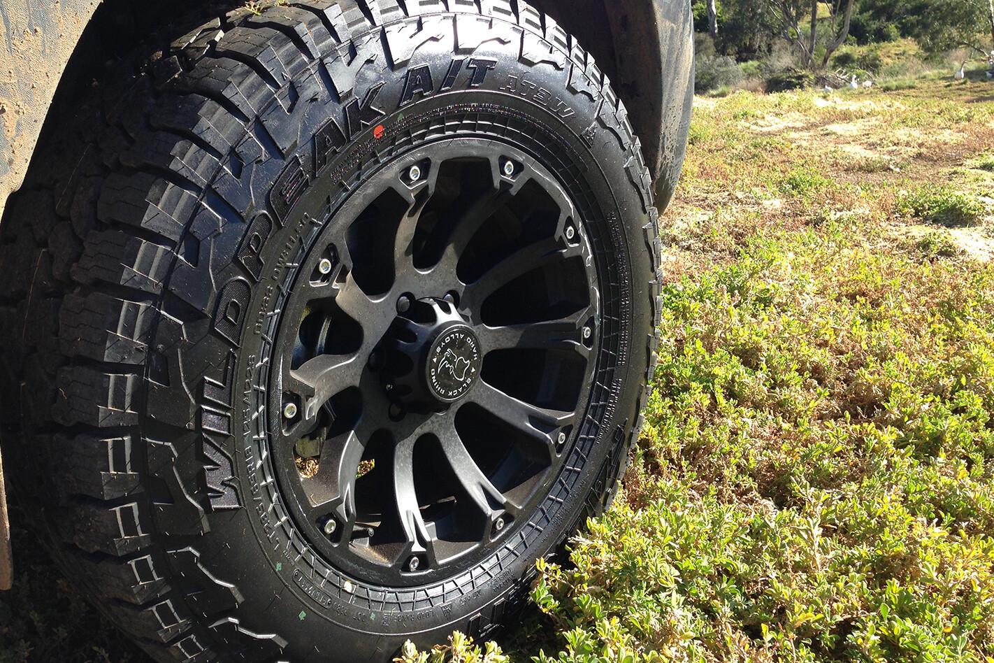 Falken Wildpeak AT3W tyres on terrain