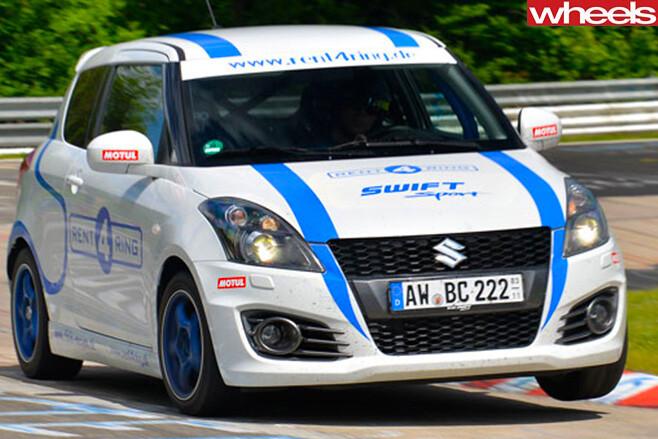 Suzuki -Swift -Track -Car