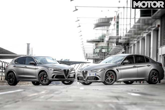 Alfa Romeo Giulia Q Stelvio Q NRING Special Edition Models Jpg