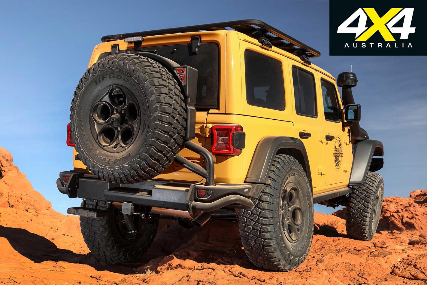 Custom AEV Jeep JL LWB Wrangler AEV Rear Bar Jpg