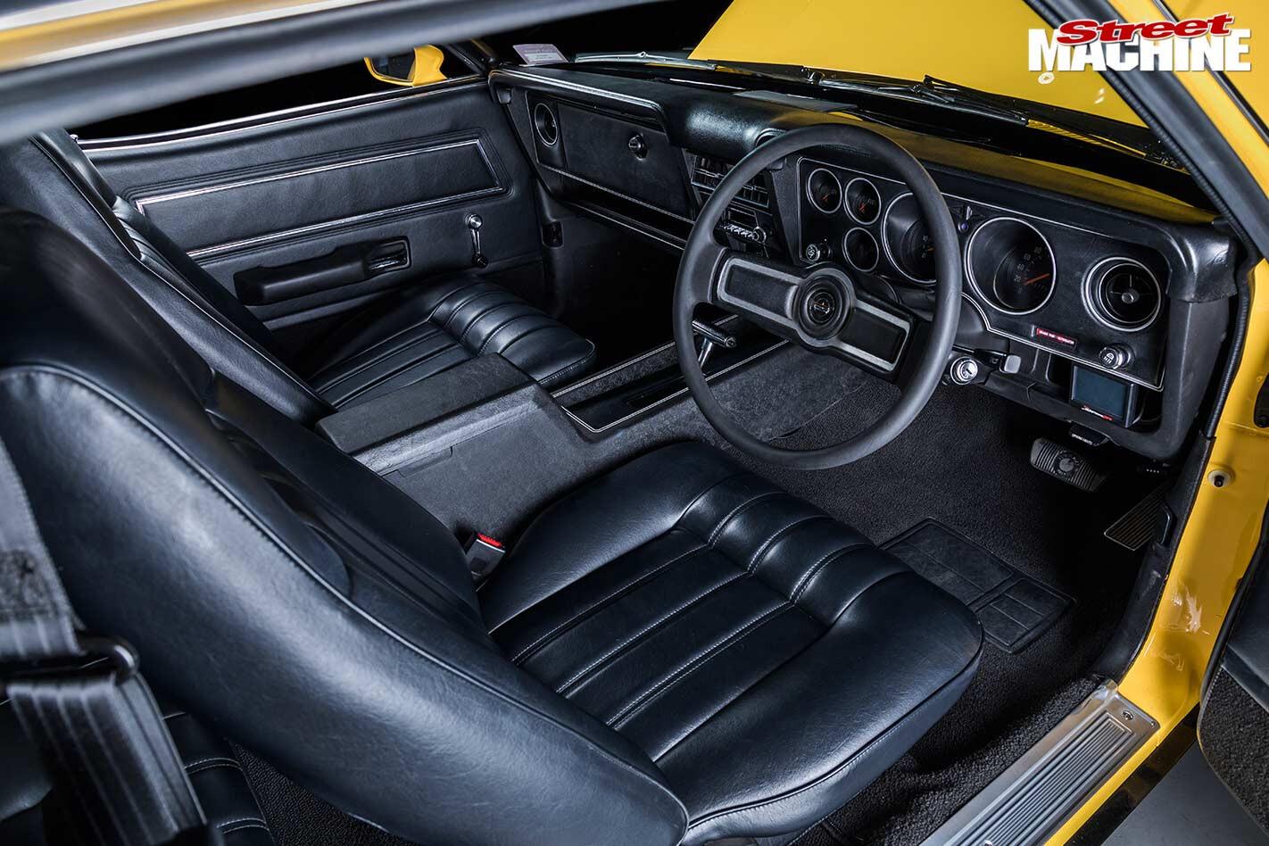 Ford Falcon XC interior