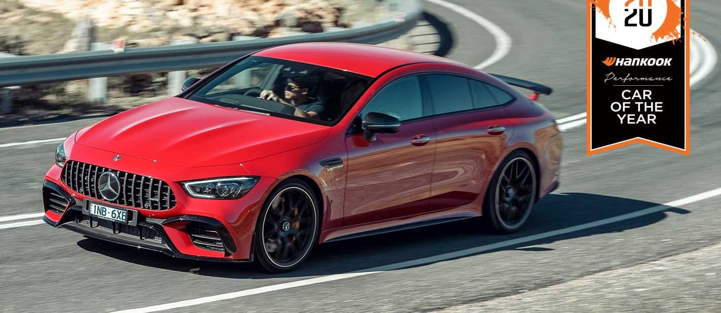 Mercedes-AMG GT63 S Performance Car of the Year 2020 results