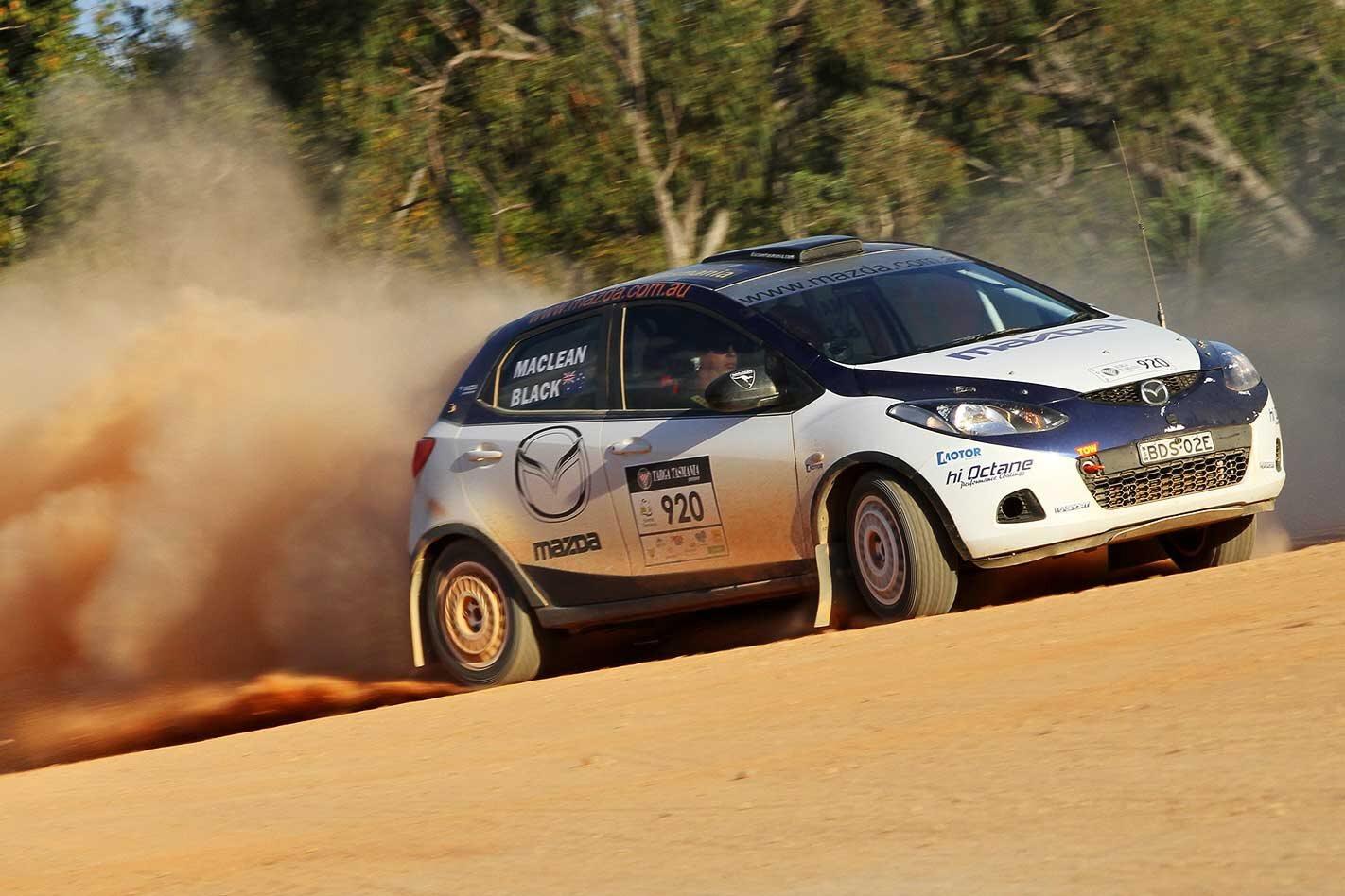 2012 Mazda 2 rally car review
