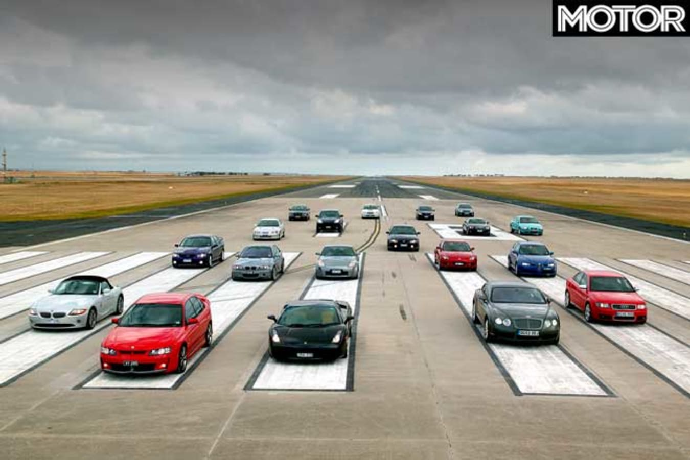 Performance Car Of The Year 2004 Readers Take Line Up Jpg