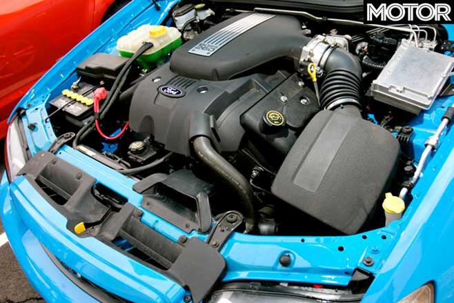 2006 Ford Falcon XR 8 Engine Jpg