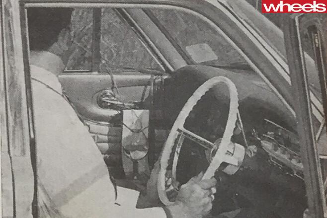 1964-Ford -Falcon -interior -driving