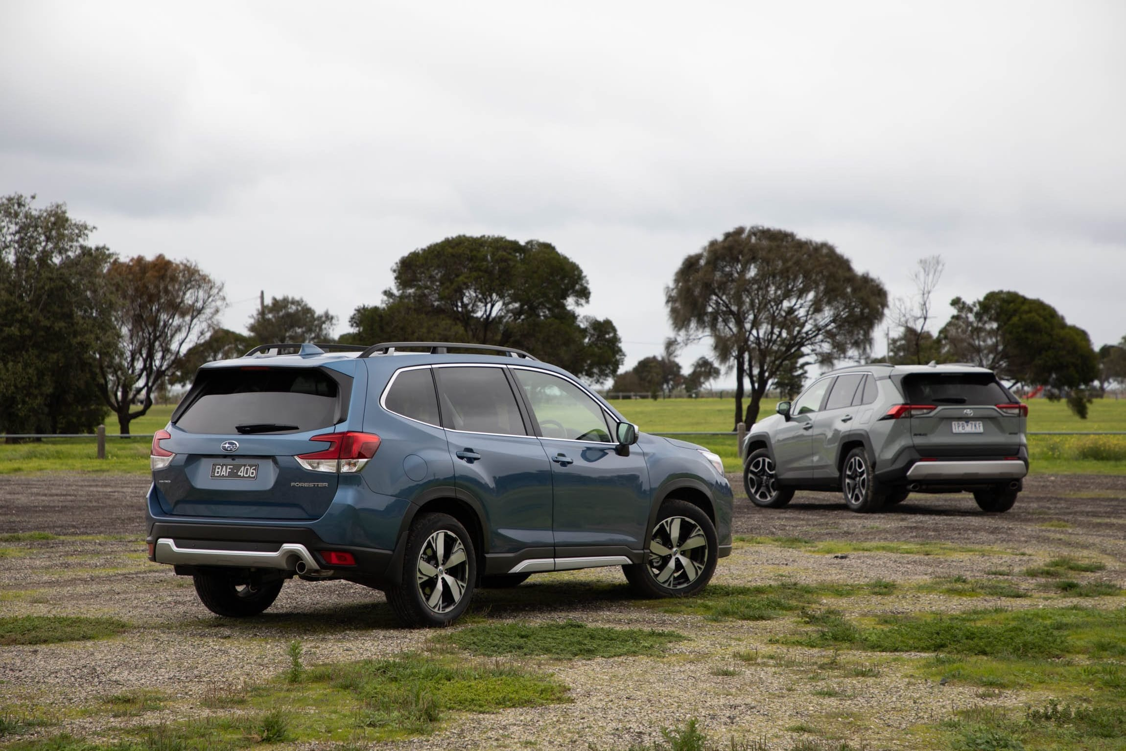 2019 Toyota Rav 4 Vs Subaru Forester Comparison 4 Jpg