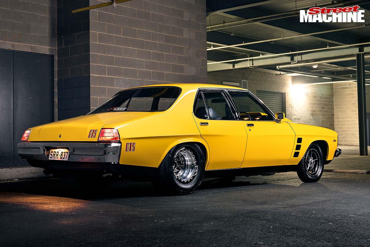 Holden HJ GTS rear