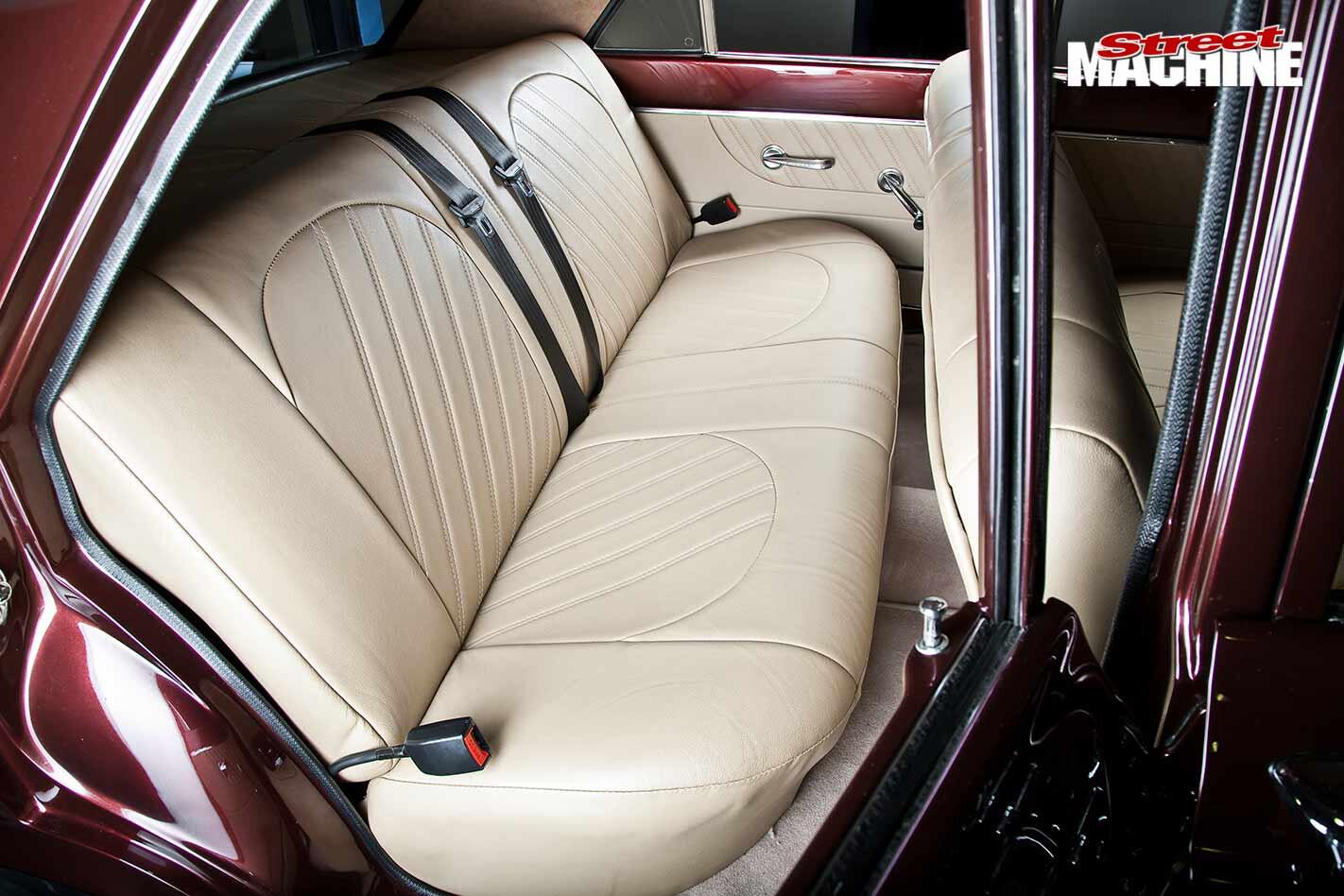 Ford Compact Fairlane interior rear