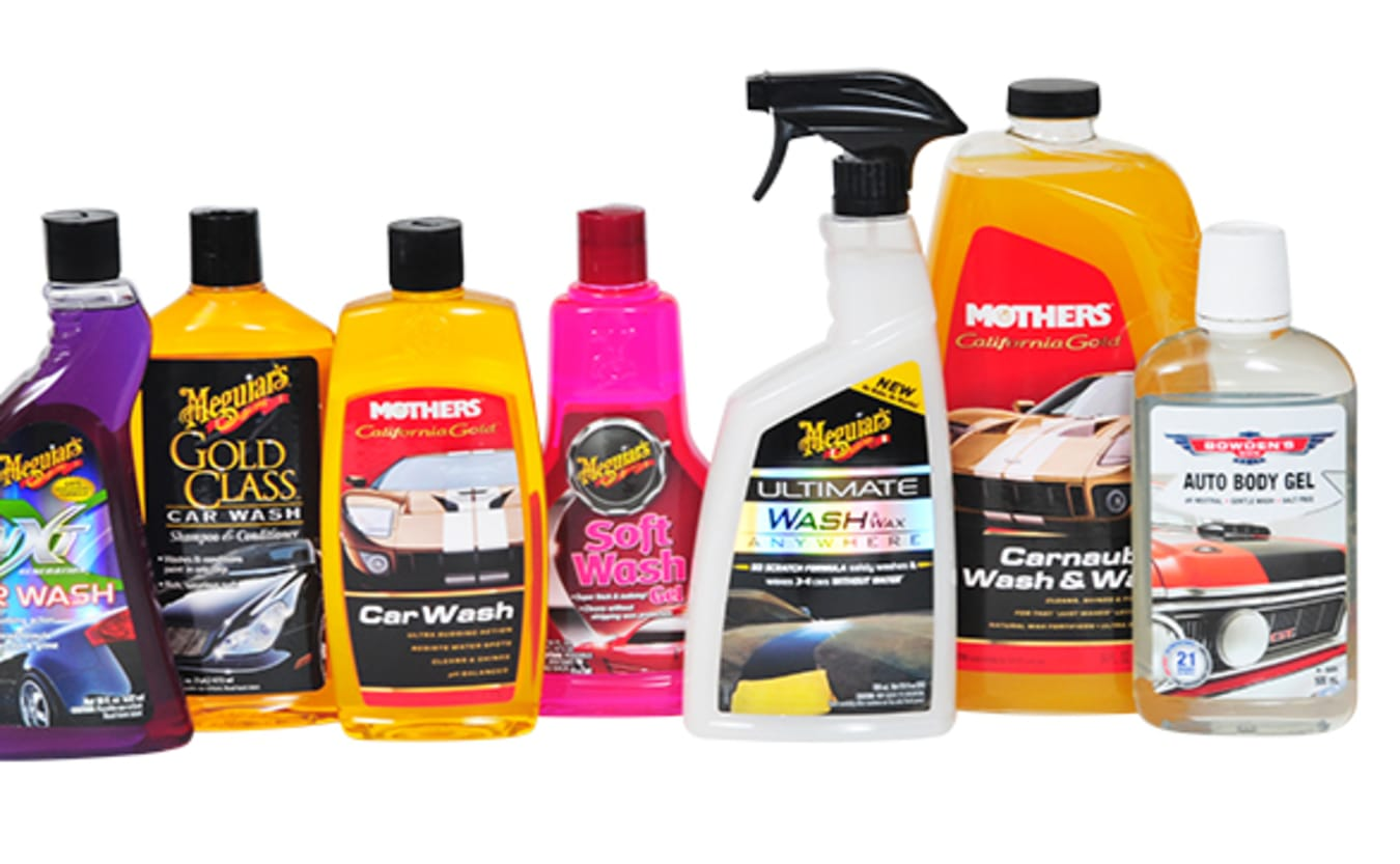 Car cleaning products