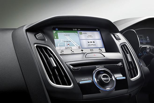 Ford Fiesta ST infotainment