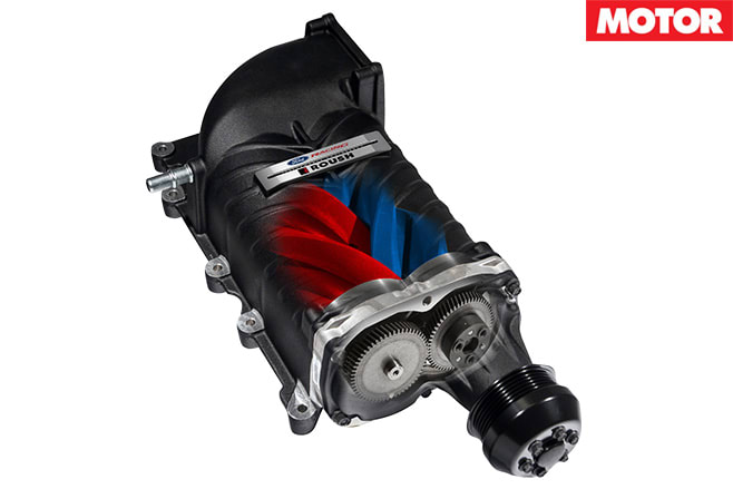 Ford Performance supercharger