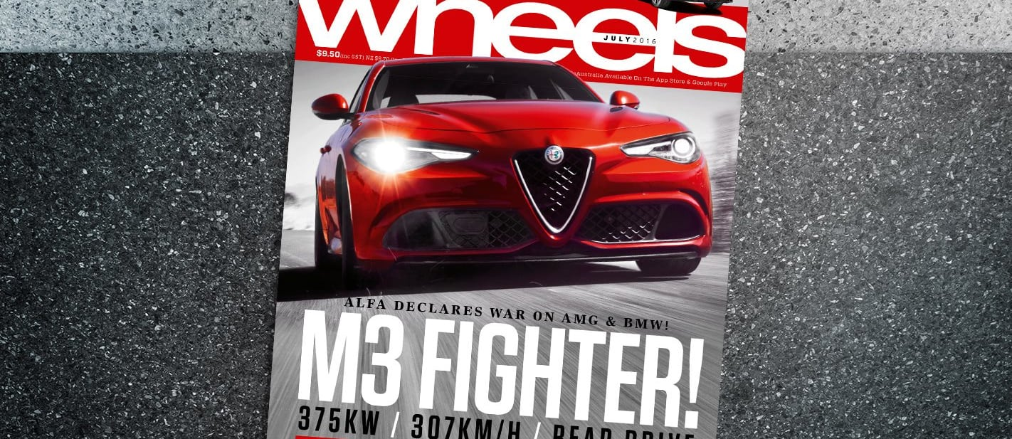 Wheels Magazine July Issue Cover 2016