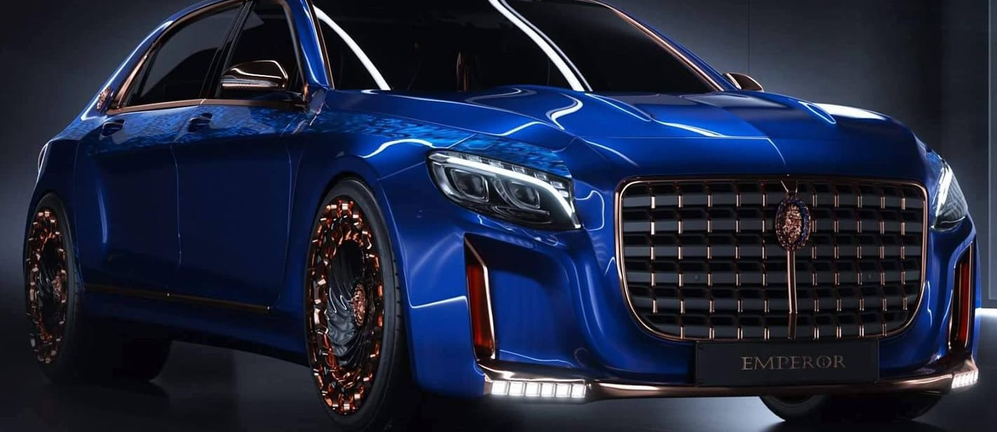 Mercedes-Maybach S600 gets Emperor treatment
