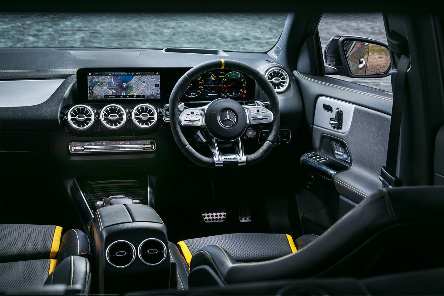 Mercedes AMG GLA 45 S Interior Jpg