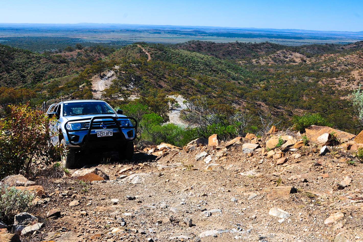 Flinders Range 4WD Tracks