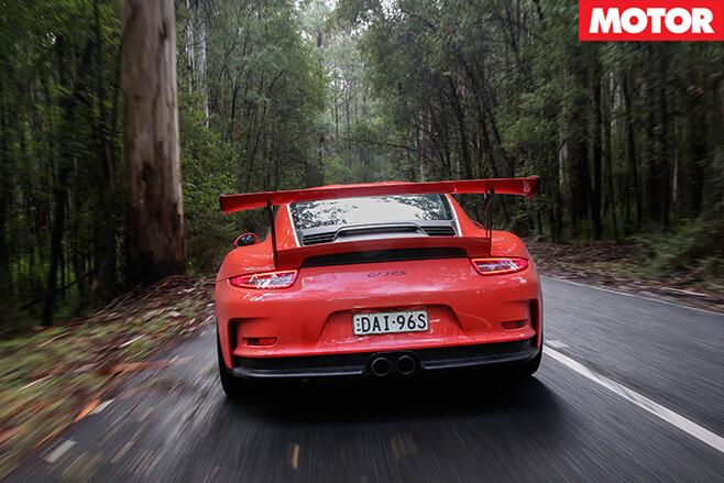 Porsche gt3 rear end
