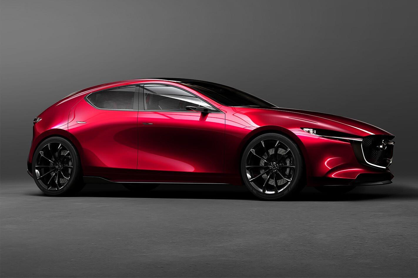Mazda Kai concept unveiled, next-gen Mazda 3 previewed