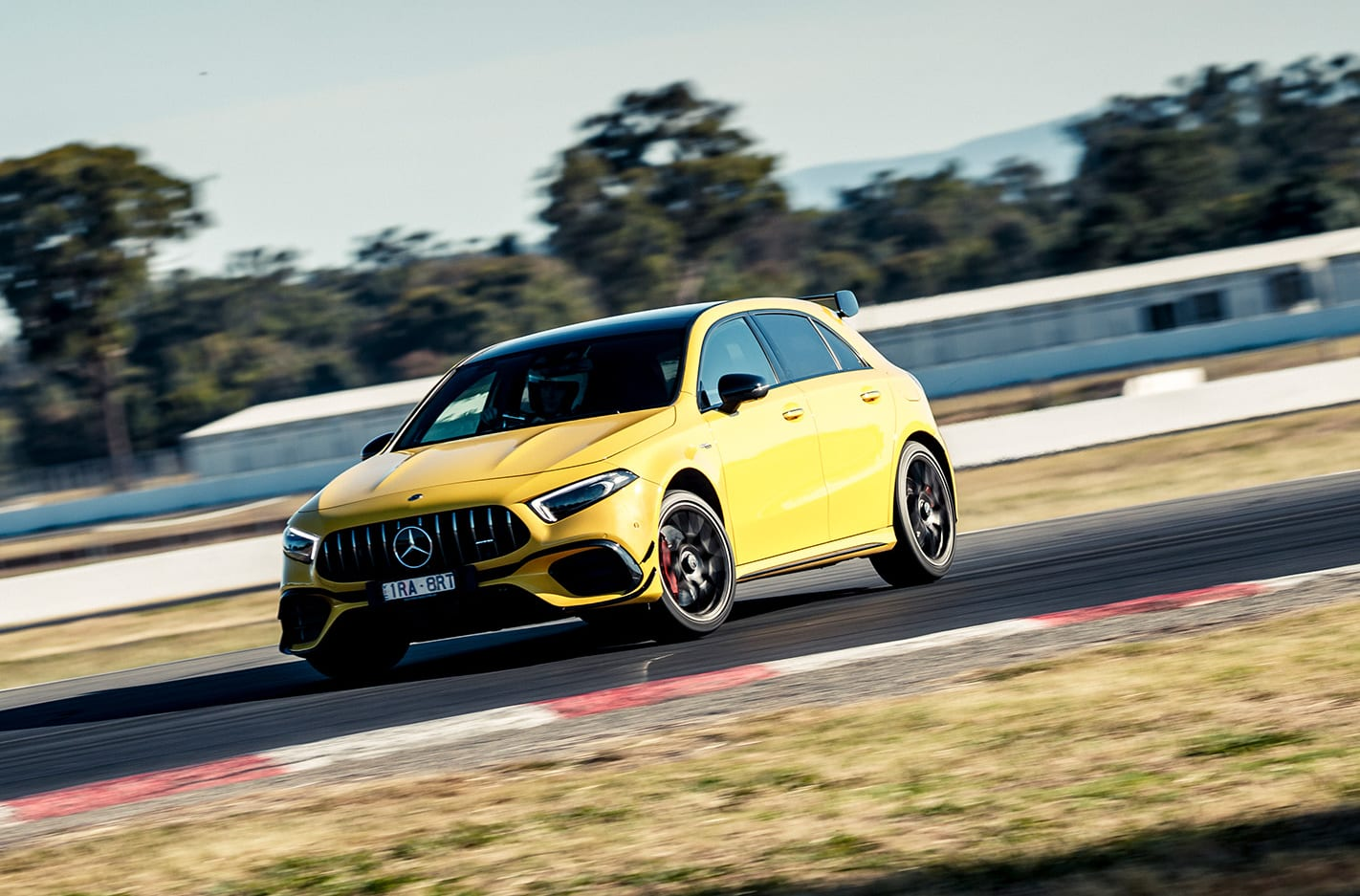 Mercedes-AMG A45 S takes on the MOTOR Shootout