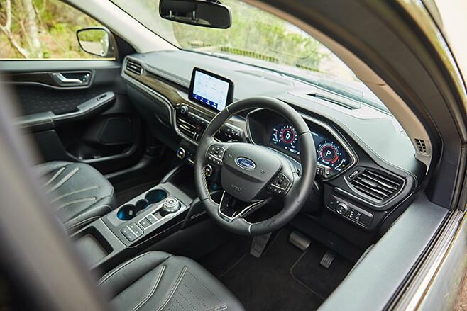 Ford Escape Vignale AWD interior