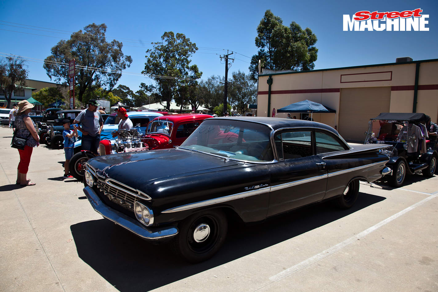 Chev Bubble Top 40 Nw