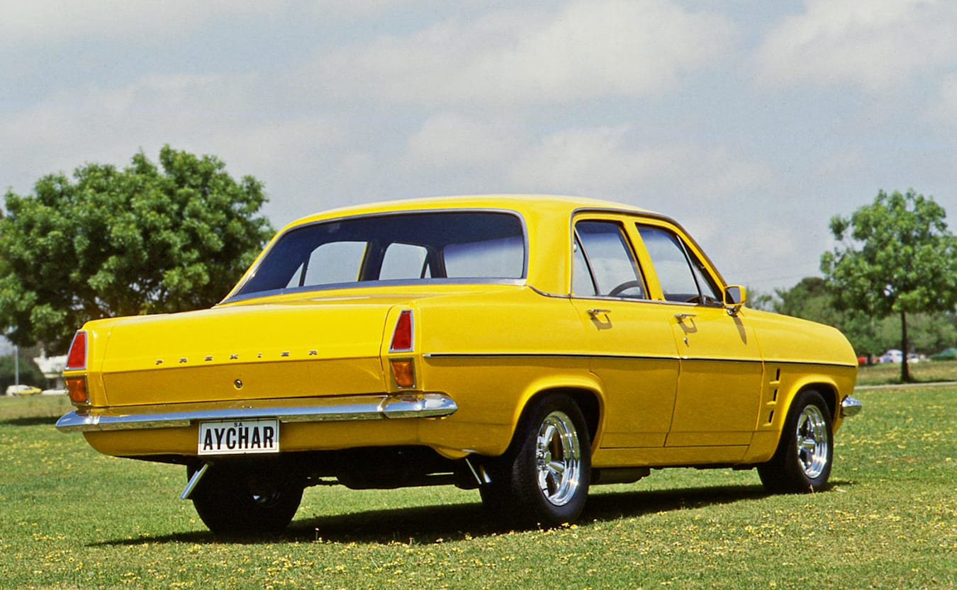 Holden with GTS flutes
