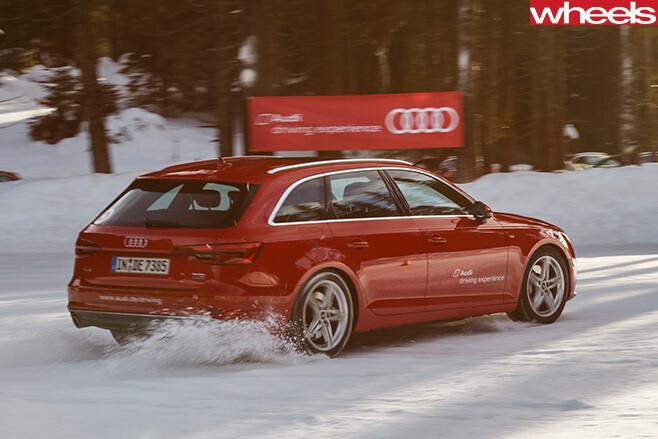 Audi -Avant -Quattro -rear