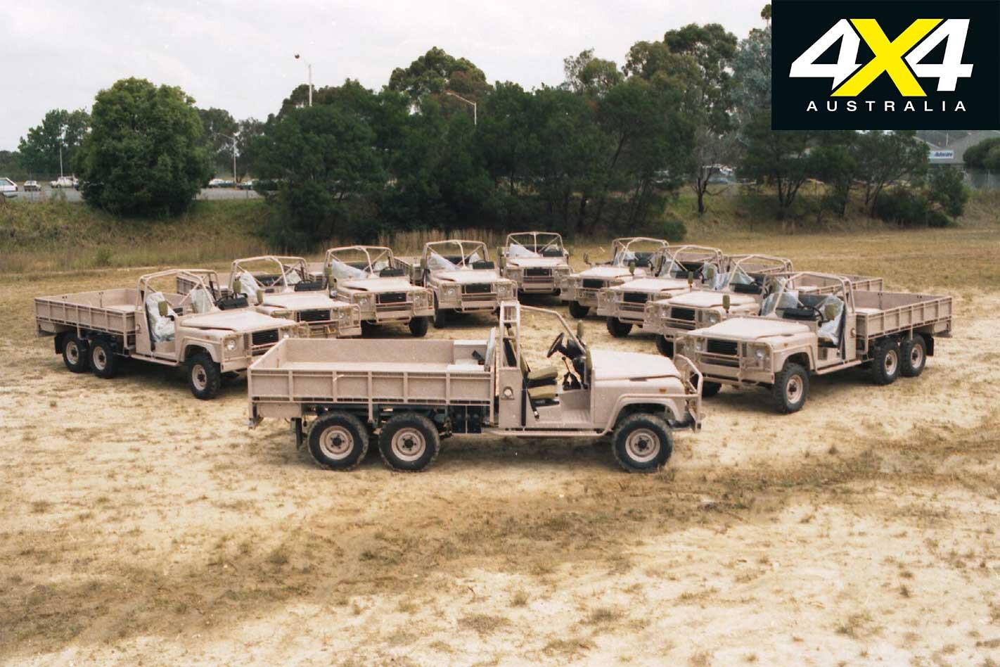 70 Years Of Land Rover 6 X 6 Military Land Rover Fleet Jpg