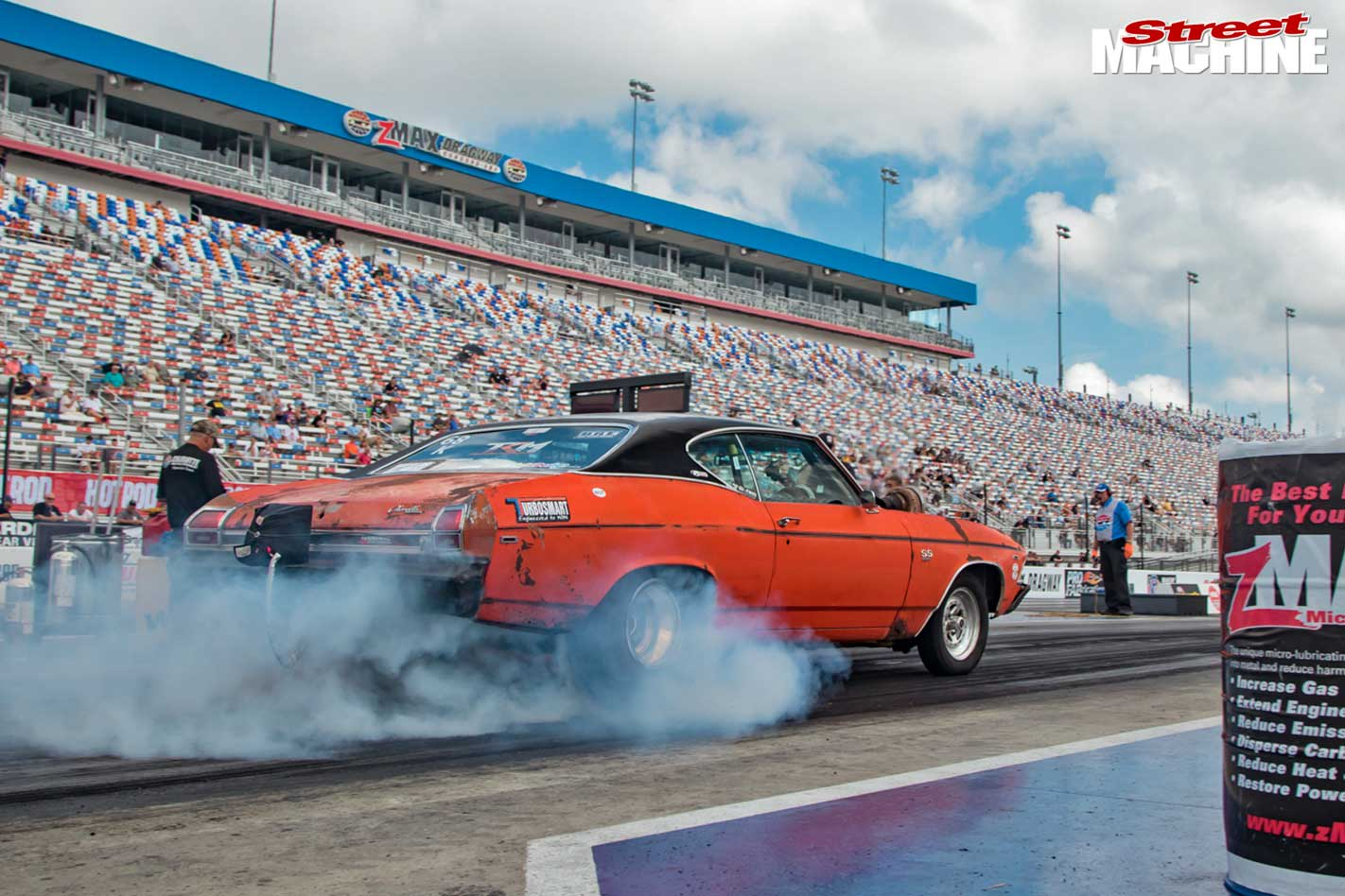 Chevelle at drag week
