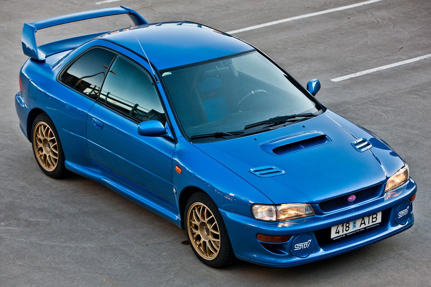 Subaru Impreza Wrx Sti 22 B Top Down Jpg